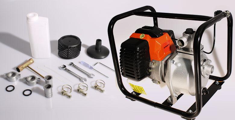 wasserpumpe motor benzin pumpe kreiselpumpe teich gartenpumpe kraftstoff arebos ebay. Black Bedroom Furniture Sets. Home Design Ideas